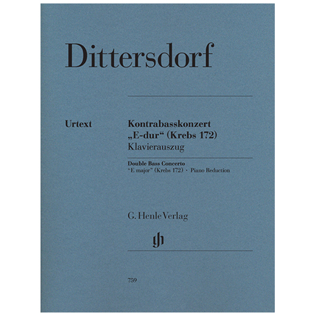 Dittersdorf, K. D. v.: Konzert E-Dur - Krebs 172
