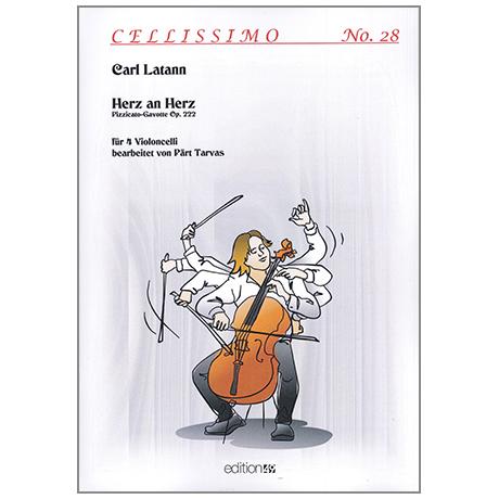 Latann, C.: Herz an Herz – Pizzicato Gavotte Op. 222
