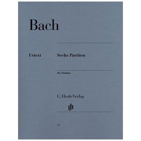 Bach, J. S.: Sechs Partiten BWV 825-830
