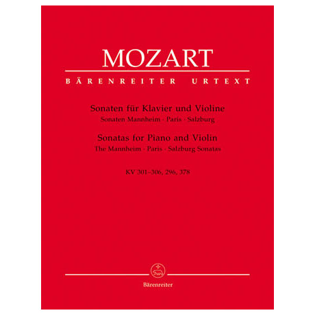 Mozart, W. A.: Violinsonaten