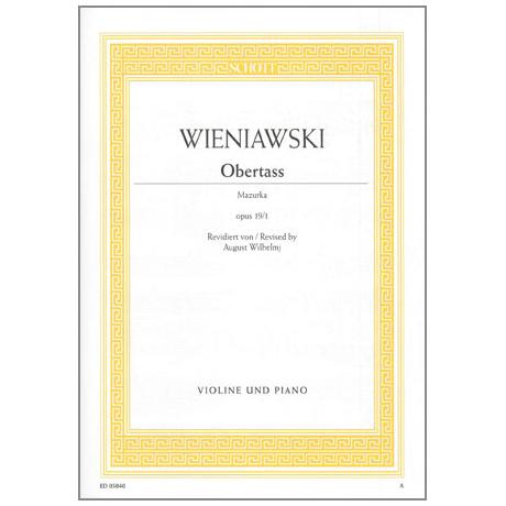 Wieniawski, H.: Obertass Op. 19/1