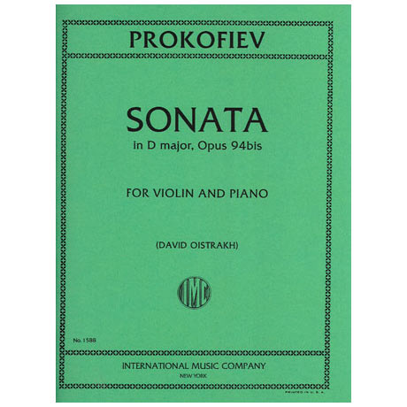 Prokofjew, S.: Violinsonate Op. 94a D-Dur (Oistrach)