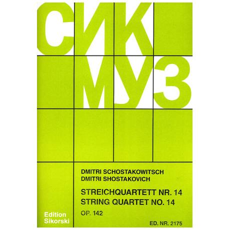Schostakowitsch, D.: Streichquartett Nr. 14, op. 142
