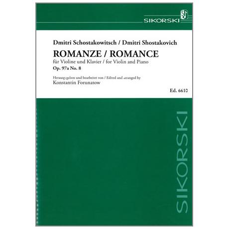 Schostakowitsch, D.: Romanze op. 97a Nr.8