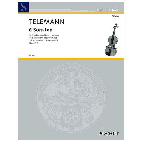 Telemann, G. Ph.: 6 Sonaten – Band 2