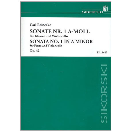 Reinecke, C.: Sonate a-moll Nr.1 op.42