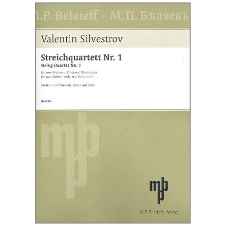 Silvestrov, V.: Streichquartett Nr. 1