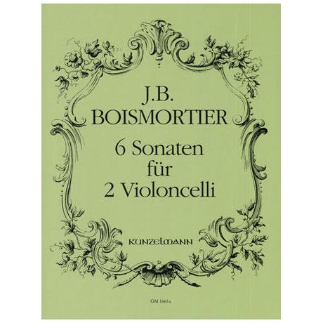 Boismortier, J. B. d.: 6 Violoncellosonaten