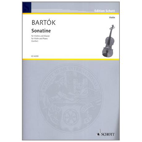 Bartók, B.: Violinsonatine über Themen der Bauern von Transsylvanien