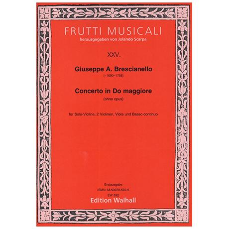 Brescianello, G. A.: Violinkonzert D-Dur