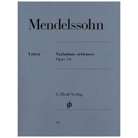 Mendelssohn Bartholdy, F.: Variations sérieuses Op. 54