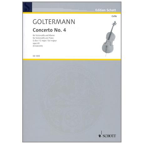 Goltermann, G.: Konzert Op.65 Nr.4