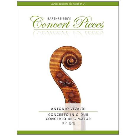 Vivaldi, A.: Violinkonzert Nr. 3 Op. 3 RV 310 G-Dur