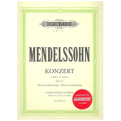 Mendelssohn Bartholdy, F.: Violinkonzert Op. 65 e-Moll (+CD)
