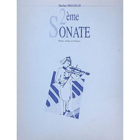 Milhaud, D.: Sonate 2 Op.244