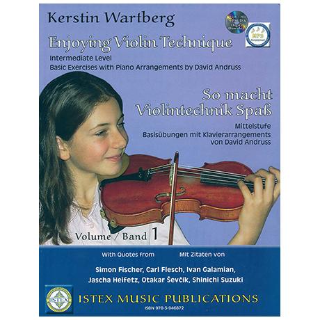 Wartberg, K.: So macht Violintechnik Spaß (+MP3-CD/OnlineAudio)
