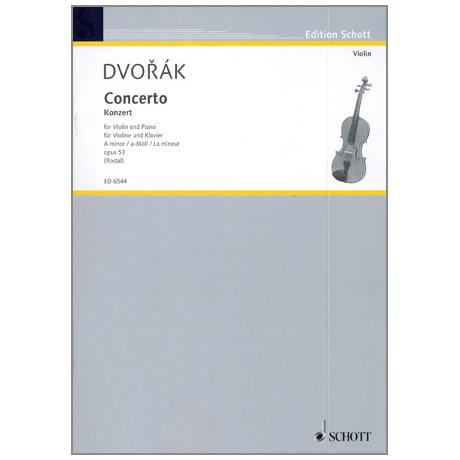 Dvořák, A.: Konzert Op.53 a-Moll