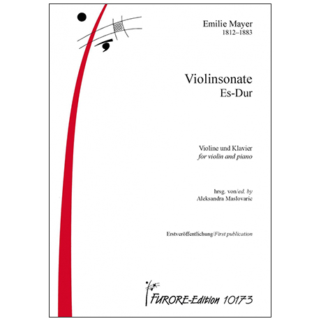 Mayer, E.: Violinsonate Es-Dur
