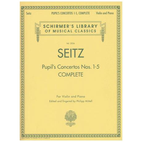 Seitz: Pupil's Concertos Nr.1-5