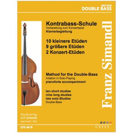 Simandl, F.: Kontrabass-Schule – Klavierbegleitung zu Band 6, 7 und 9