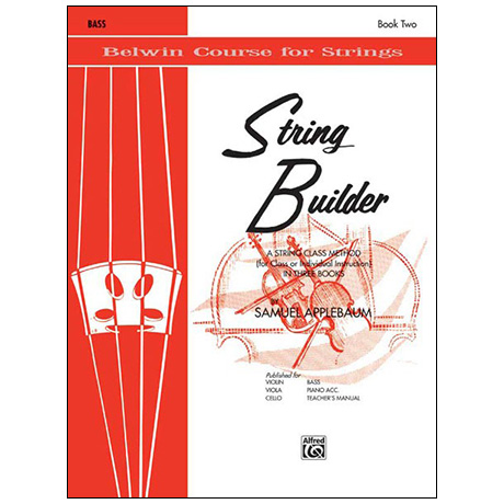 Applebaum, S.: String Builder Book Two – Bass