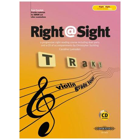 Lumsden, C.: Right@Sight for Violin Grade 4