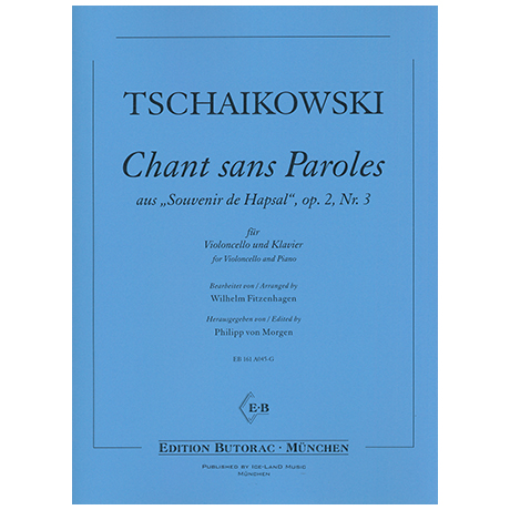 Tschaikowski, P. I.: Chant sans paroles Op. 2/3