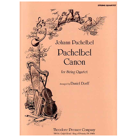 Pachelbel, J.: Canon – for String Quartet