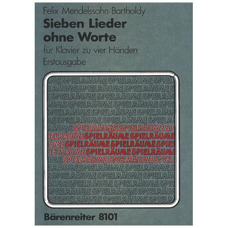 Mendelssohn Bartholdy, F.: Sieben Lieder ohne Worte Op. 62/1-6, 67/1