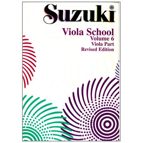Suzuki Viola School Vol.6