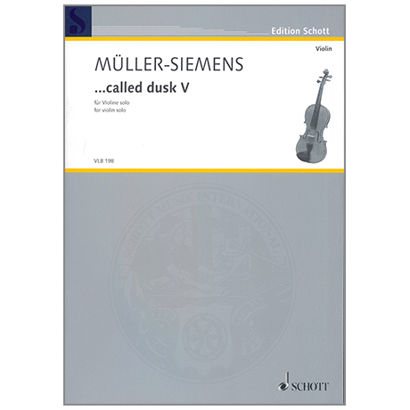 Müller-Siemens, D.: ...called dusk