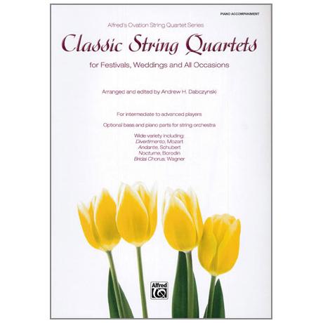 Classic String Quartets - Klavierbegleitung