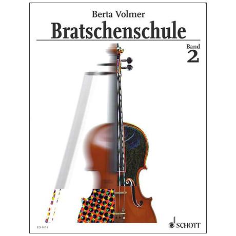 Volmer, B.: Bratschenschule Band 2