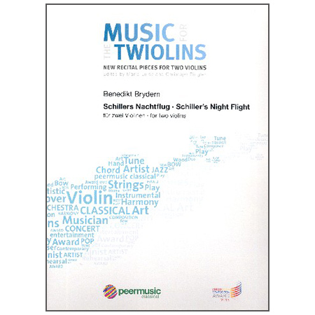 Brydern, B.: Schillers Nachtflug – Music for the Twiolins