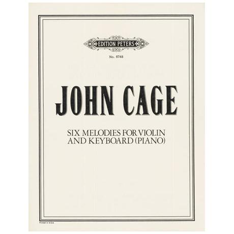 Cage, J.: 6 Melodien