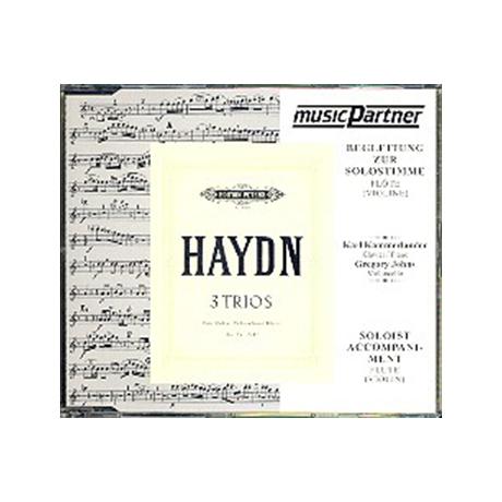 Haydn, J.: 3 Flötentrios G-, D-, F-Dur, Compact-Disc CD