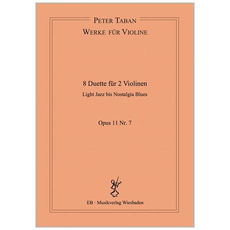 Taban, P.: 8 Duette Op. 11/7