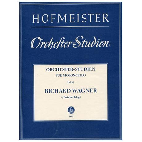 Klug, Chr.: Orchesterstudien Heft 15: Wagner