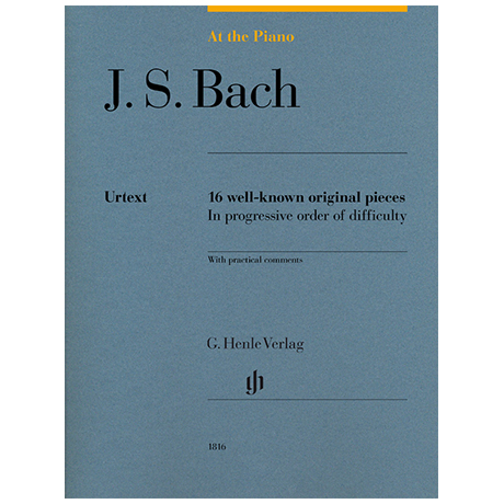 Bach, J. S.: At The Piano