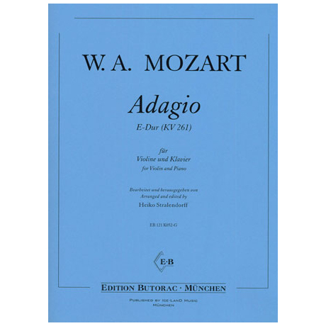 Mozart, W. A.: Adagio KV261 E-Dur