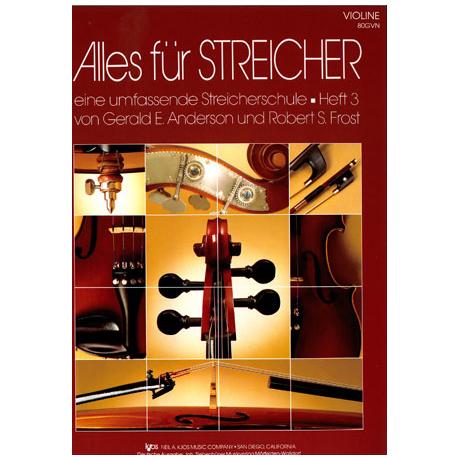 Alles für Streicher – Schule Heft 3