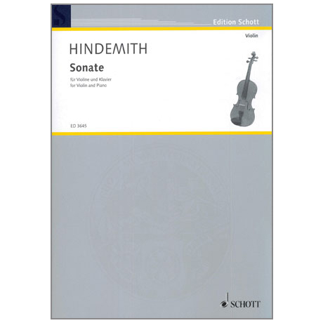 Hindemith, P.: Sonate in C-Dur