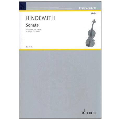 Hindemith, P.: Sonate C-Dur