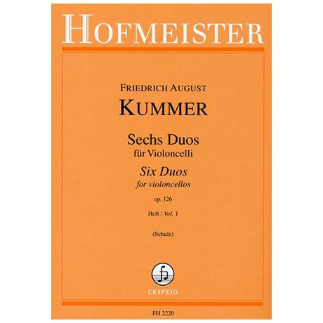 Kummer, F.A.: 6 Duos Op.126 Band 1