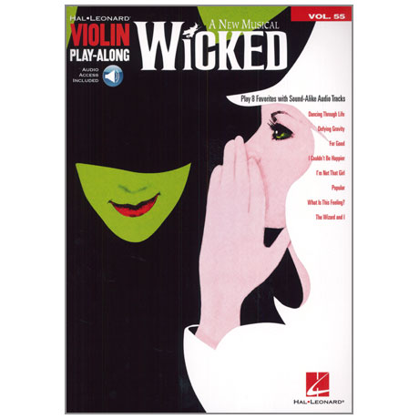 Wicked: A New Musical – Violin Play Along 55 (+Online Audio)