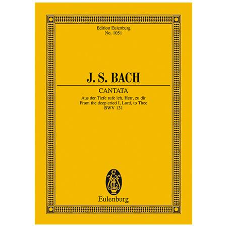Bach, J. S.: Kantate BWV 131 »Psalm 130«