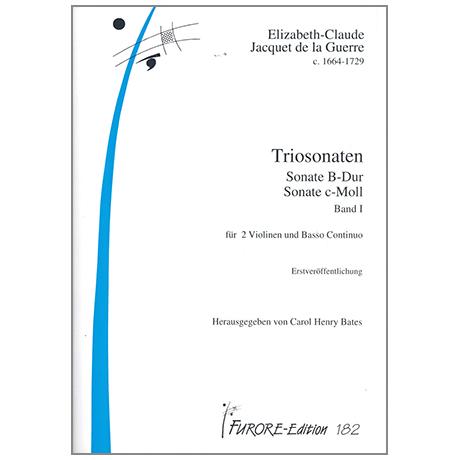 La Guerre, E.J.d.: Triosonaten Bd.1