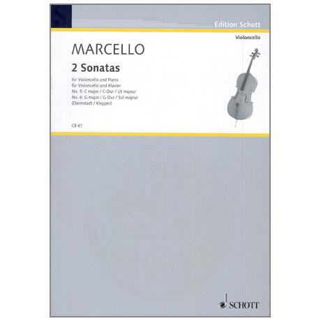 Marcello: Zwei Sonaten (Nr. 5 C-Dur und Nr. 6 G-Dur)