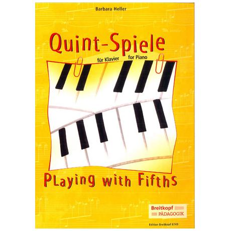 Quint-Spiele für Klavier (B. Heller)