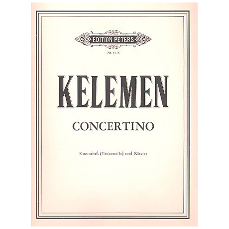 Kelemen: Concertino